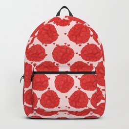 Juicy red raspberries Backpack