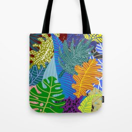 Lush Leaves Tote Bag