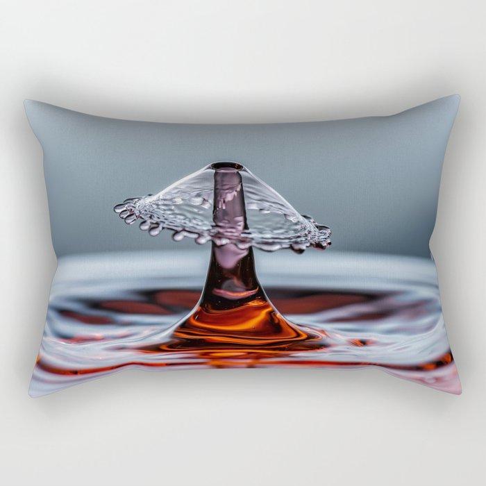 Red liquid Mushroom waterdrop 6737 Rectangular Pillow