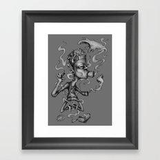 N° 24 Framed Art Print