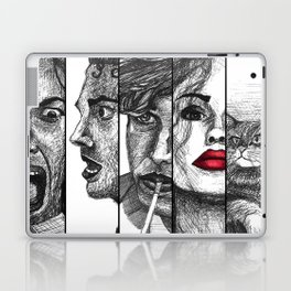 Film Noir Collage Laptop & iPad Skin