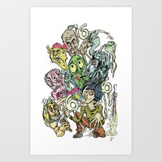 Sick Sick Sick Marc M. Of The Beast Art Print