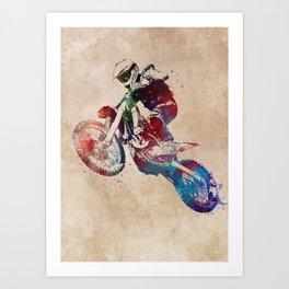 motor racing #motor #sport Art Print