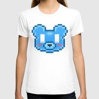 8bit T-shirts featuring 8Bit Kawaiikuma by Bear Picnic