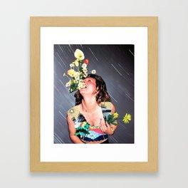 HAHAHA Framed Art Print
