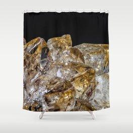 Citrine Crystals Shower Curtain