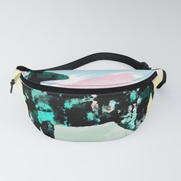Abstract Deer Fanny Pack