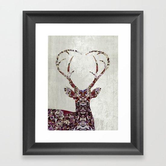 My Deer Love, Framed Art Print