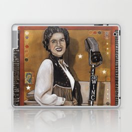 Patsy Cline Laptop & iPad Skin