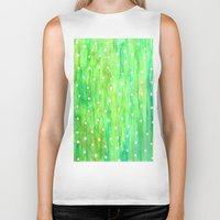 sprinkles Biker Tanks featuring Sprinkles by Rosie Brown
