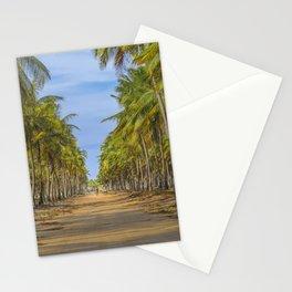 Topical Landscape Scene at Porto Galinhas Brazil Stationery Cards