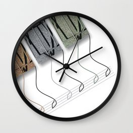 In Trap Men Wall Clock