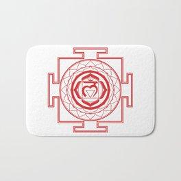 Sri Yantra Root Chakra Bath Mat