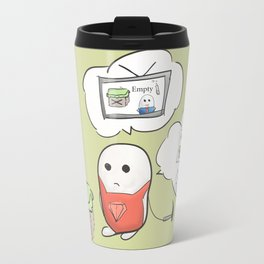 be curious  Travel Mug