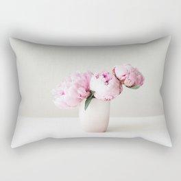 Pink Peonies 06 Rectangular Pillow