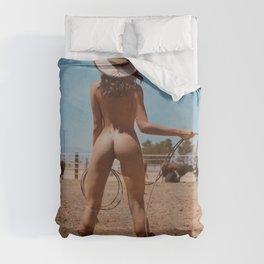 Texas Girl Duvet Cover