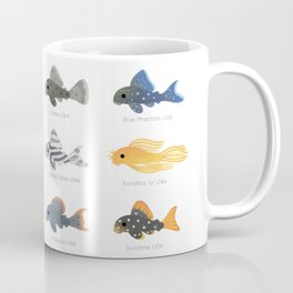Pleco! - white Coffee Mug