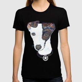 Greyhound Portrait T-shirt