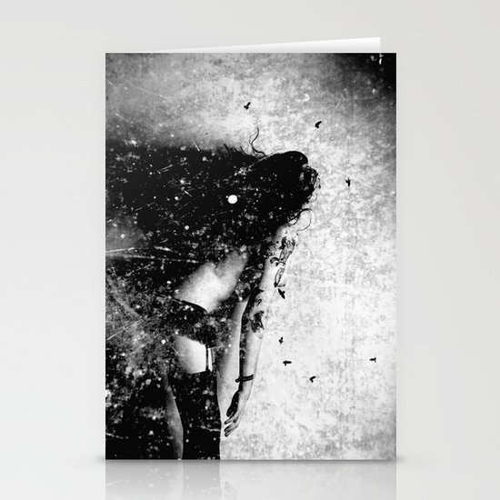 Nude art - time Stationery Cards