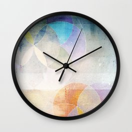 Gamma - Contemporary Geometric Circles Wall Clock