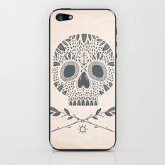 LEAF SKULL iPhone & iPod Skin