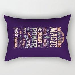 Imagine Better Rectangular Pillow