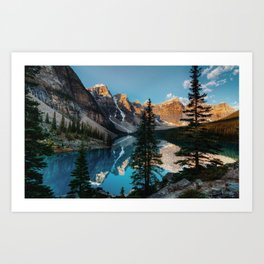 Moraine Lake Canada Art Print