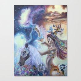 Spirit Warrior Canvas Print