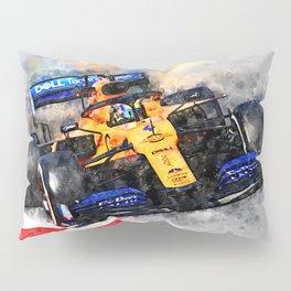 Lando Norris No.4 Pillow Sham