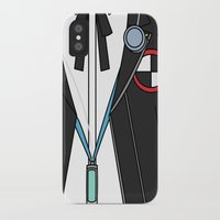 persona iPhone & iPod Cases featuring Persona 3 Protagonist Uniform by Bunny Frost