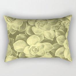 Pastel yellow aloes Rectangular Pillow