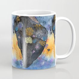 Journey of the deep sea dweller watercolor illustration Coffee Mug