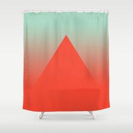 Volcanic Shower Curtain
