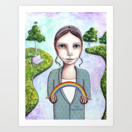 I Give You This Beauty by Kylie Fowler Art Print