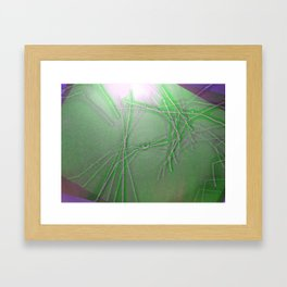 Trip Therapy Framed Art Print
