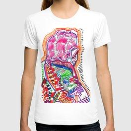 avantgarde illustration 5 T-shirt