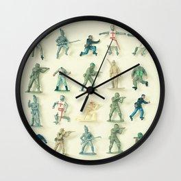 Broken Army Wall Clock