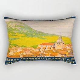 Vintage poster - Route du Jura, France Rectangular Pillow