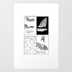 Bats In Your Hair Art Print