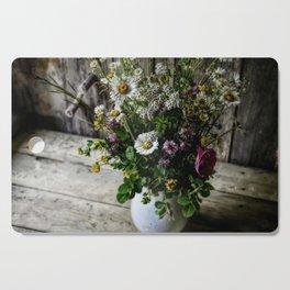 July Bouquet Cutting Board
