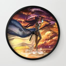 She knows the way Wall Clock