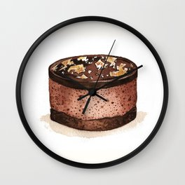 Chocolate Mousse Wall Clock