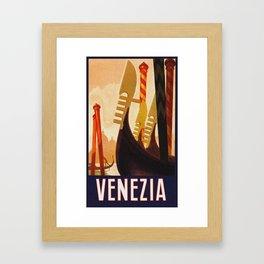 Venezia Italia ~ Venice Italy Travel Framed Art Print
