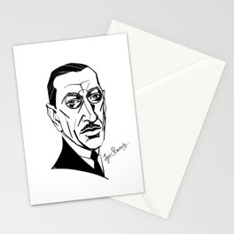 Igor Stravinsky Stationery Cards