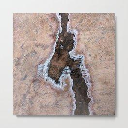Earth Art Salt of the Earth Metal Print
