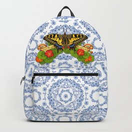 Swallowtail Butterfly and Blue Rhapsody Backpack