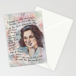 Blessed by Patsy Paterno Stationery Cards