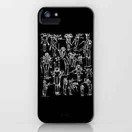Gustav Mahler Conducts Caricature iPhone Case