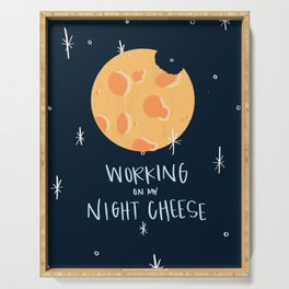 Night Cheese Serving Tray