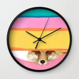 Daydreaming FOX Wall Clock